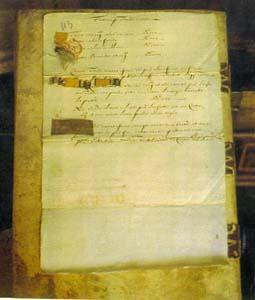 Documento dal Fondo Caccini Del Vernaccia