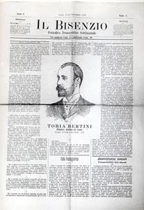 Il Bisenzio a. I, n. 3, settembre 1888