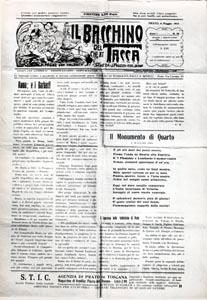 """""""Il Bacchino"""", a. I, n. 19, maggio 1915"""